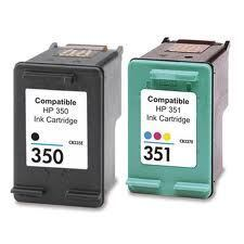Combopack 350/351 bk/color kompatibel zu HP SD412EE