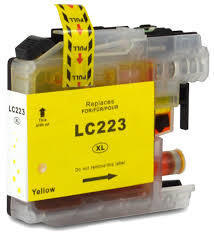 LC-223Y Tinte yellow kompatibel zu Brother 9ml